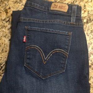 Levi's Women's 529 Curvy Boot Cut Jeans size 12